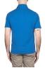 SBU 03276_2021SS Short sleeve light blue pique polo shirt  05