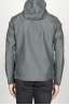 SBU 00905 Technical waterproof hooded windbreaker jacket grey 04