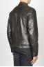 SBU 00907 Classique moto jacket en cuir de vachette noir 03