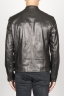 SBU 00907 Classic motorcycle jacket in black calf-skin leather 04