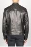 SBU 00907 Classique moto jacket en cuir de vachette noir 04