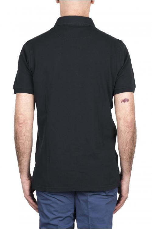 SBU 03285_2021SS 半袖黒板グレーピケポロシャツ 01