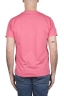 SBU 03305_2021SS Flamed cotton scoop neck t-shirt pink 05