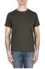 SBU 03306_2021SS Flamed cotton scoop neck t-shirt green 01