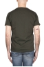 SBU 03306_2021SS Flamed cotton scoop neck t-shirt green 05