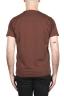 SBU 03307_2021SS Flamed cotton scoop neck t-shirt rust 05