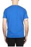 SBU 03313_2021SS Flamed cotton scoop neck t-shirt China blue 05