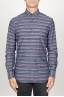 SBU 00922 Classic point collar grey striped cotton shirt 01