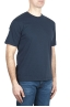 SBU 03322_2021SS Pure cotton round neck t-shirt navy blue 02