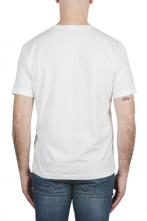 SBU 03323_2021SS T-shirt col rond en pur coton blanc 01