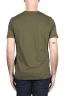 SBU 03324_2021SS Pure cotton round neck t-shirt green 05