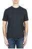 SBU 03325_2021SS Pure cotton round neck t-shirt anthracite 01