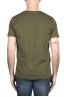 SBU 03329_2021SS Round neck patch pocket cotton t-shirt green 05