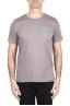 SBU 03333_2021SS Round neck patch pocket cotton t-shirt grey 01