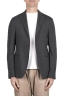 SBU 03338_2021SS Grey stretch wool tailored jacket 01