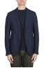 SBU 03339_2021SS Blue stretch wool tailored jacket 01