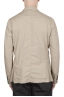SBU 03347_2021SS Beige cotton sport jacket unconstructed and unlined 04