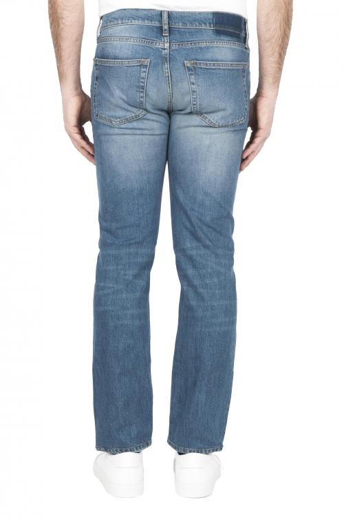 SBU 03207_2021SS Jeans elasticizzato in puro indaco naturale stone bleached 01