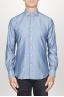 SBU 00925 Camicia classica collo a punta in cotone blue indaco chiaro 01