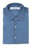 SBU 03352_2021SS Classic indigo blue linen shirt 06
