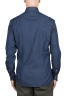 SBU 03368_2021SS Navy blue denim cotton shirt 05