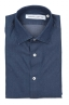 SBU 03368_2021SS Navy blue denim cotton shirt 06