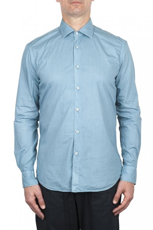 SBU 03370_2021SS Camicia in cotone super leggero azzurro 01