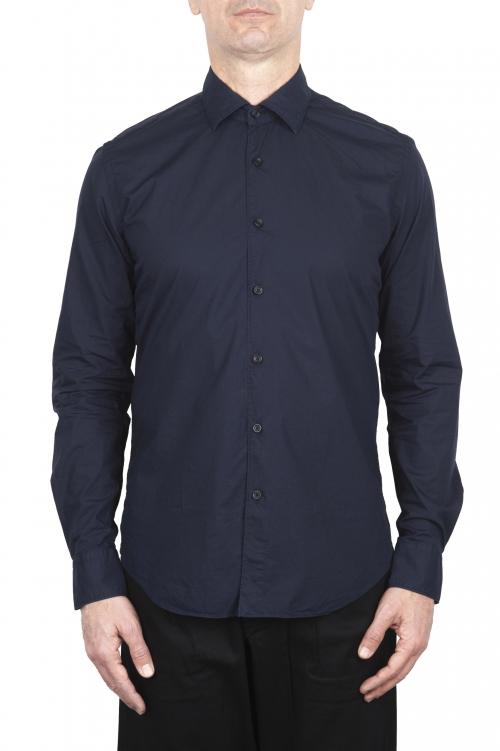 SBU 03371_2021SS Camicia in cotone super leggero blu 01