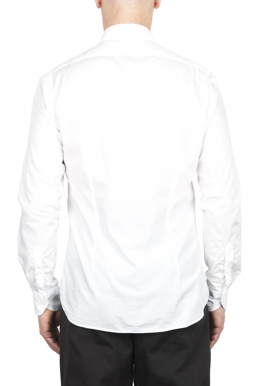 SBU 03372_2021SS 白い超軽量コットンシャツ 01