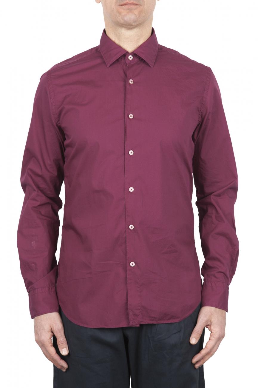 SBU 03373_2021SS Red super light cotton shirt 01