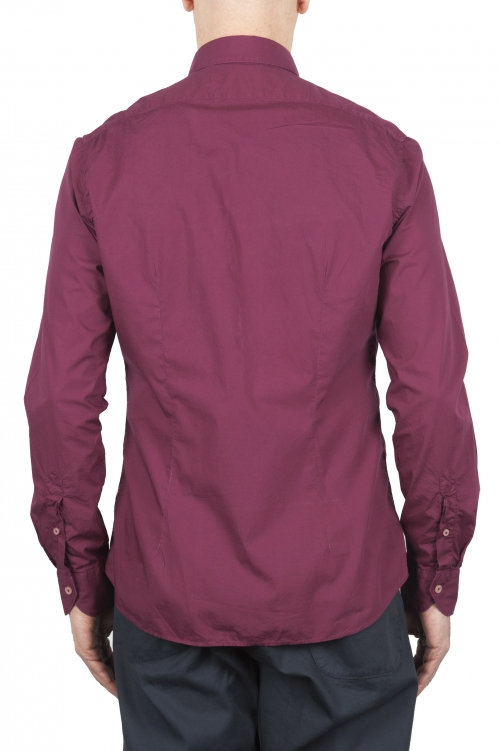 SBU 03373_2021SS Camicia in cotone super leggero rossa 01