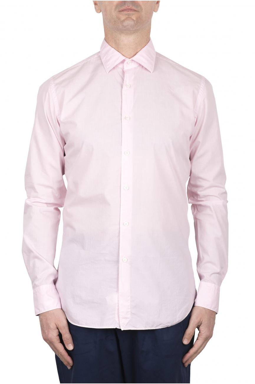 SBU 03375_2021SS Pink super light cotton shirt 01