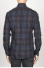 SBU 00927 Camicia classica collo a punta in cotone madras a quadri blue 04