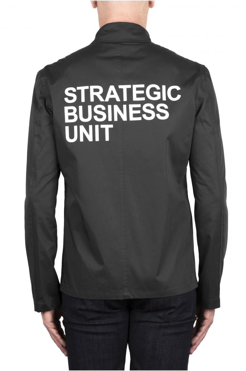 SBU 03383_2021SS Grey cotton overshirt 01