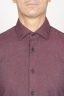 SBU 00934 Classic point collar red cotton flannel shirt 05