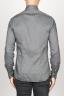 SBU 00936 Clásica camisa oxford gris lavado con cuello de punta  04
