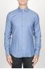 SBU 00937 Clásica camisa oxford azul claro lavado con cuello de punta  01