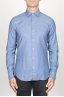 SBU 00937 Classic point collar light blue washed oxford shirt 01