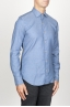 SBU 00937 Classic point collar light blue washed oxford shirt 02