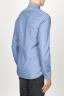 SBU 00937 Camicia classica collo a punta in oxford lavato celeste 03