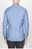 SBU 00937 Camicia classica collo a punta in oxford lavato celeste 04