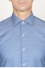 SBU 00937 Classic point collar light blue washed oxford shirt 05