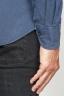 SBU 00938 古典的なポイントの襟青はオックスフォードシャツを洗浄 06