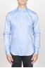 SBU 00939 Clásica camisa oxford azul de algodón con cuello de punta  01
