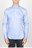 SBU 00939 Classic point collar blue oxford cotton shirt 01