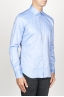SBU 00939 Camicia classica collo a punta in cotone oxford azzurra 02