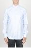 SBU 00941 Camicia classica collo a punta in cotone oxford celeste 01