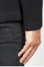 SBU 00909 Veste stretch en laine élastique noire 06