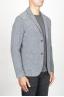 SBU 00910 Chaqueta de mezclilla de lana stretch gris 02