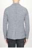 SBU 00910 Chaqueta de mezclilla de lana stretch gris 04